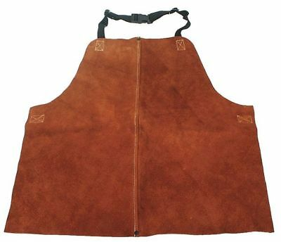 CONDOR 4KXH1 Welding Waist Apron, Leather, 18 x 24 In