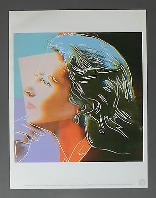 Andy Warhol Foundation Ltd. Ed. Offset Lithography Ingrid Bergman: Herself, 1983