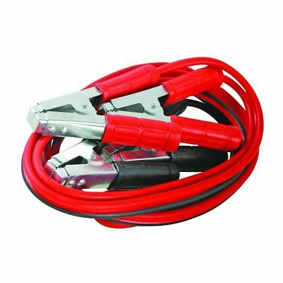 Duty 600Amp Car Van Jump Leads 3.6Metre Long Booster Cables Silverline 456956