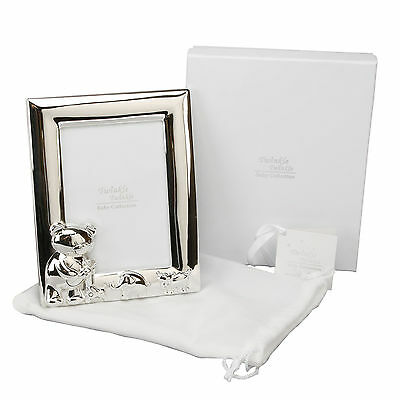 Baby Photo Frame 3.5 x 5 Twinkle Twinkle Baby Silver Plated Christening Gift