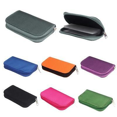 Memory Card Storage Wallet Case Bag Holder SD Micro Mini 22 Slots Camera Phone
