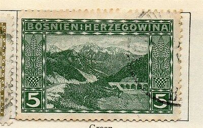 Bosnia Herzegovina 1906 Early Issue Fine Used 5h.