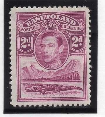 2 Basutoland; 1938 Early Gvi Issue Fine Mint Hinged 1.5d Value
