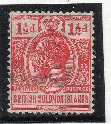 British Solomon Islands 1922-31 Early Issue Fine Used 1.5d.