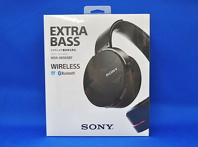 Sony MDR-XB950BT Black Wireless Stereo Headset Japan Domestic Version New