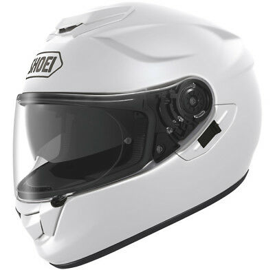 Shoei GT Air Full Face Motorcycle Motorbike Helmet - Gloss White -  Size Medium
