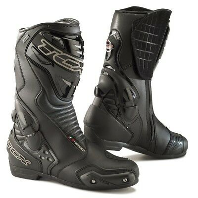 Tcx S-Speed Gortex Motorcycle Waterproof Racing Boots Black-Ride Best Buy - Sale