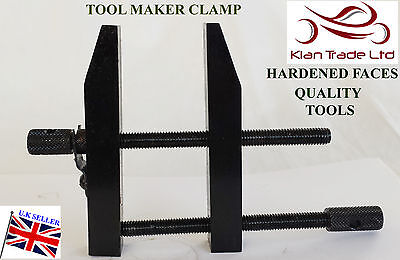 """2"""" INCH 50MM Liner Tool Makers Parallel Clamp Hardened Faces DIY ENGINEERING"""