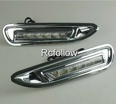 2x Running Day LED Fog Lamp Light DRL Driving Daytime Fit For Mazda 6 atenza