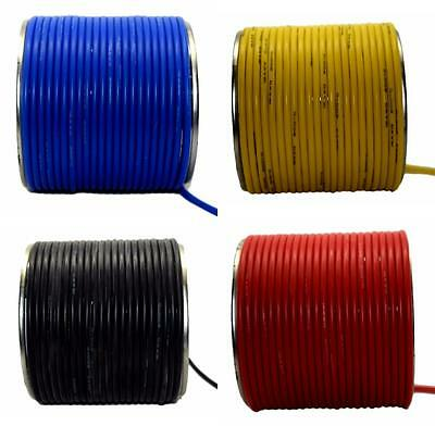 Flexible Silicon Wire Cable 10/12/14/16/18/20/22/24 AWG Various Colours