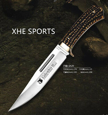 JL020 Survival Military Bowie Camping Hunting Tactical Pig Sticker knife Au