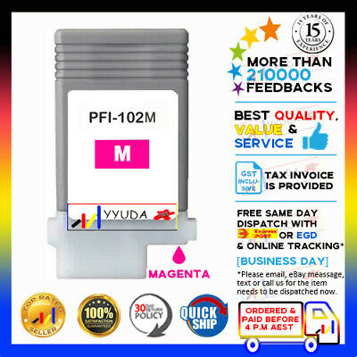 Any 1 Generic Ink Cartridges for Canon PF-102 IPF-605 IPF-610 IPF-700 Printer
