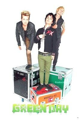 """GREEN DAY THE POSTER 24""""x36"""" MUSIC ROCK CONCERT NEW1 SIDE SHEET WALL PM72"""