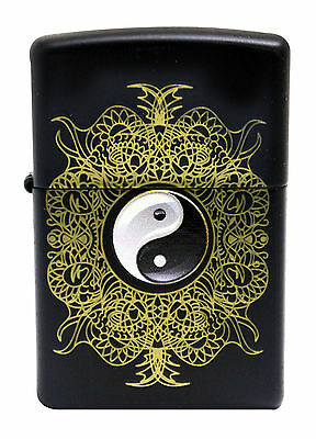 Zippo Windproof Lighter With Yin and Yang, 28829, New In Box