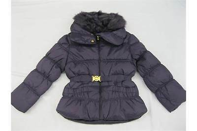 GIRLS FUR COLLAR PUFFER COAT_Size 11/12 Yrs or 146/152 Cm-clothes jacket-tops