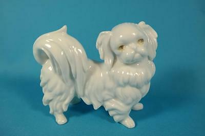 Vintage Ardalt Lenwile Bone China Verithin Porcelain Pekingese Dog Figurine