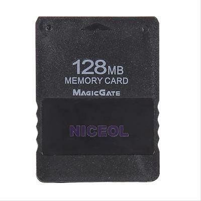 128MB Memory Card Save Game Data Stick for Sony Playstation 2 PS2 Slim Console