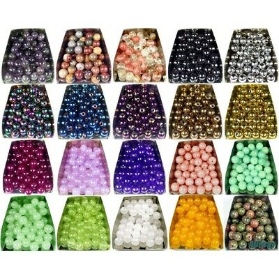 assorted natural gemstone loose beads 4mm 6mm 8mm 10mm round stone jewelry DIY