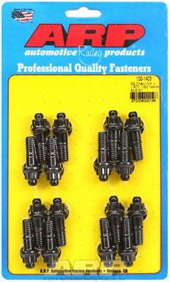 ARP Header Studs 12-Point Nuts Custom 450 Black Oxide Chevy Big Block Set of 16