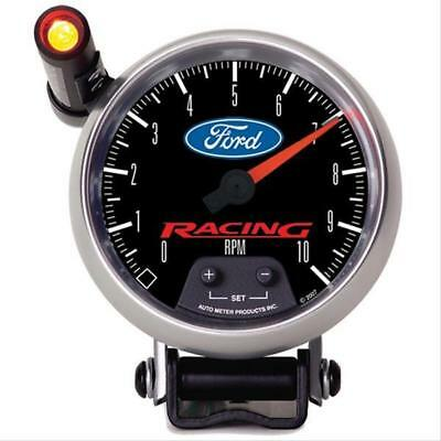 """Autometer Ford Racing Tachometer 0-10,000 3 3/8"""" Dia Black Face 880083"""
