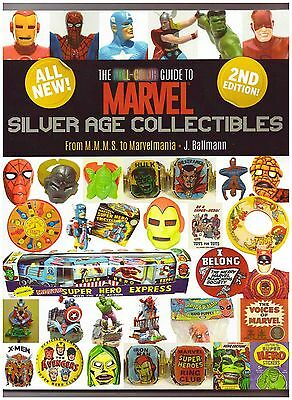 FULL-COLOR GUIDE TO MARVEL SILVER AGE COLLECTIBLES MMMS to Marvelmania Reference