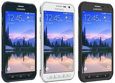 MINT Samsung Galaxy S6 Active G890A AT&T <UNLOCKED> 4G LTE 32GB Blue/White/Gray