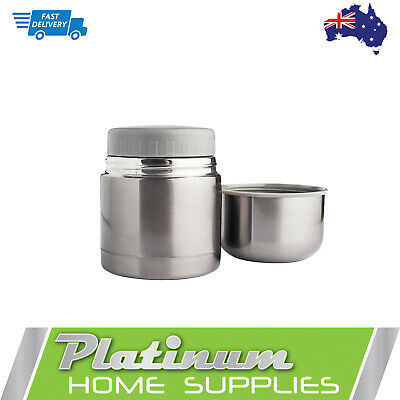 New Thermos Food Flask Container Small Vacuum 400ml Insulated Stainless