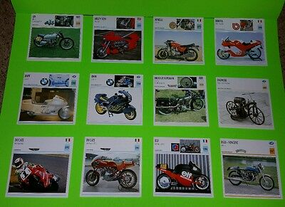Atlas (Moto Passion) Motorcycle Cards; Set Of 60