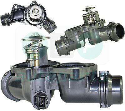 For BMW 3 Series (E46) 320i, 323i, 325i, 328i, 330i, Thermostat with Housing