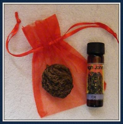 HIGH JOHN THE CONQUEROR / LARGE ROOT & OIL KIT ~Love, Success, Court, Protection