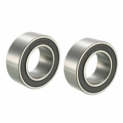 30BD5220 30mm Inner Dia  52mm OD Shielded Deep Groove Ball Bearing 2 Pcs