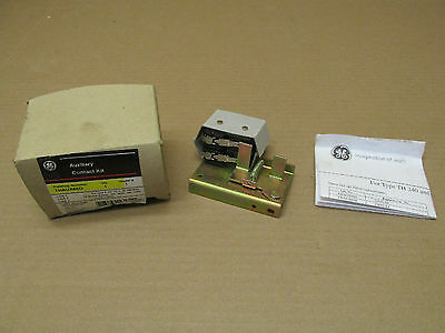 NIB GE THAUX66D Auxiliary Contact Kit Heavy Duty 600 VAC 400-600 Amp TH240 TH