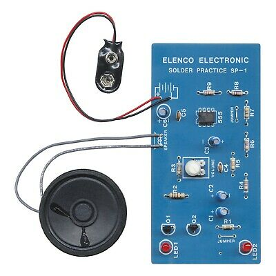 ELENCO SP-1A Practical Soldering Project Kit Ages 13+