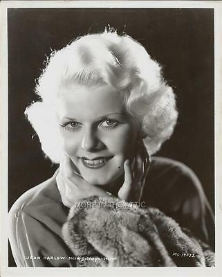 Lovely Young Jean Harlow Mgm Hollywood Portrait Still