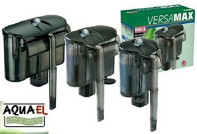 Aquael Versamax Mini FZN 1 2 3 Hang On Aquarium Fish Tank Filter Pump External
