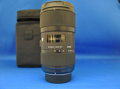 Sigma 18-35mm F1.8 DC HSM Art For Nikon Camera Zoom Lens Japan Model New