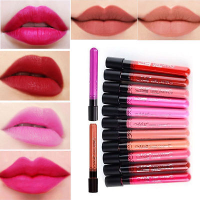 Makeup Pencil Matte Lipstick Lip Gloss Super Long Lasting Waterproof Liquid