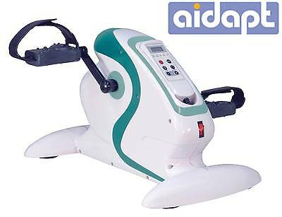 Aidapt Fitness Pedal Exerciser Electric Mini Exercise Bike Home Cardio Workout
