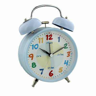 Hometime Musical Teach Time Boys Alarm Clock Gift Childrens Alarm Clocks