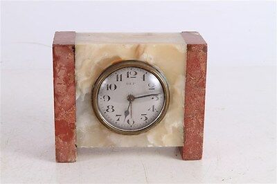 Antique Old French Made DEP Art Deco Marble Mantle Clock.