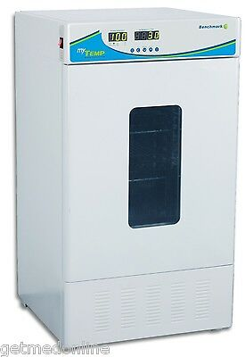 NEW ! Benchmark Scientific MyTEMP 65HC Heating + Cooling Lab Incubator, H2265-HC