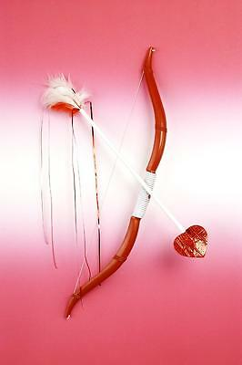 Cupid Cupids Bow And Arrow Set Heart Love Valentine'S Day Costume Accessory