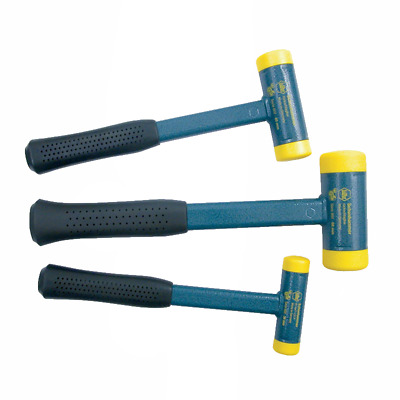 Wiha 80290 Medium Hard Dead Blow Hammer Set, 3-Piece