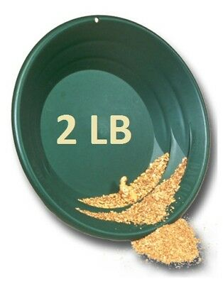 Gold Paydirt 2 LB From Colorado - Unsearched Gold Paydirt Bags - Guaranteed Gold