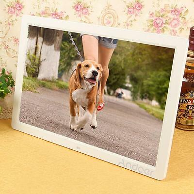 "17"" LED HD 1080P Cornici digitali 1440*900 Digital Photo Picture Frame MP4 U0O1"