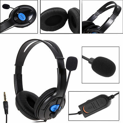 Wired Gaming Headset Headphones with Microphone for Sony PS4 PlayStation 4 PC