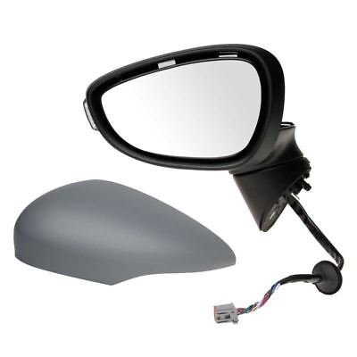Ford Fiesta Mk7 2013-2015 Electric Wing Door Mirror Primed Passenger Side N/S