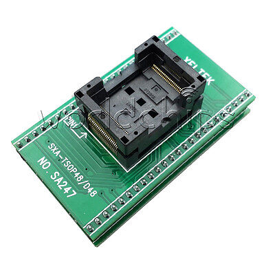 TSOP48 TO DIP48 SA247 IC Programmer Adapter TSOP48 Chip Test Socket