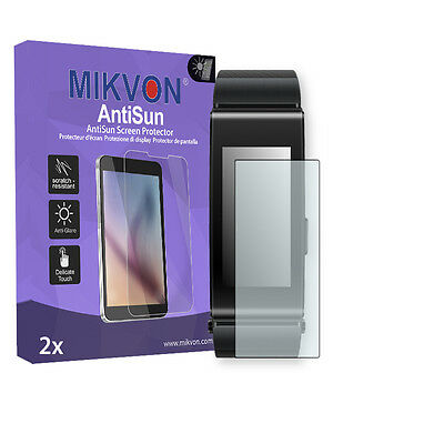 2x Mikvon AntiSun Screen Protector for Huawei Talkband B2 Retail Package
