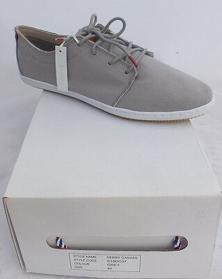 chaussures homme Lafeyt derby canvas men shoes neuf 48 €
